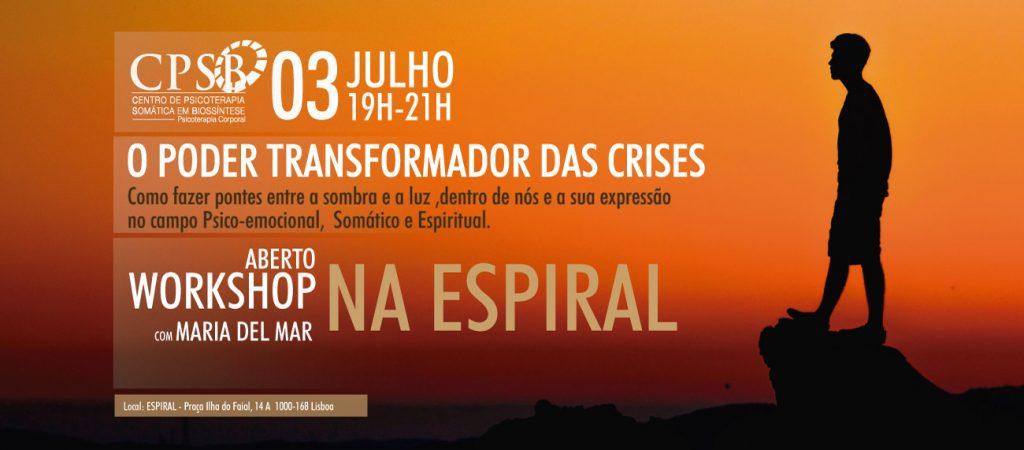 Workshop - O Poder Transformador das Crises