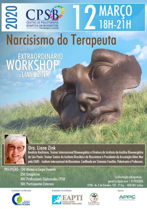 Workshop - Narcisismo do Terapeuta