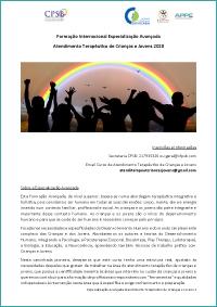 Referencial - Especialização em Atendimento Terapêutico de Crianças e Jovens
