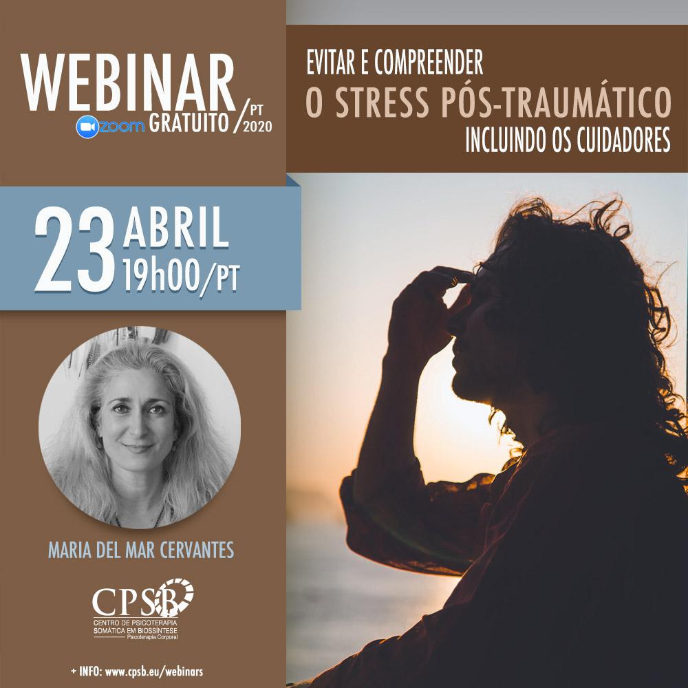 Evitar e compreender o Stress Pós-traumático - incluindo os cuidadores