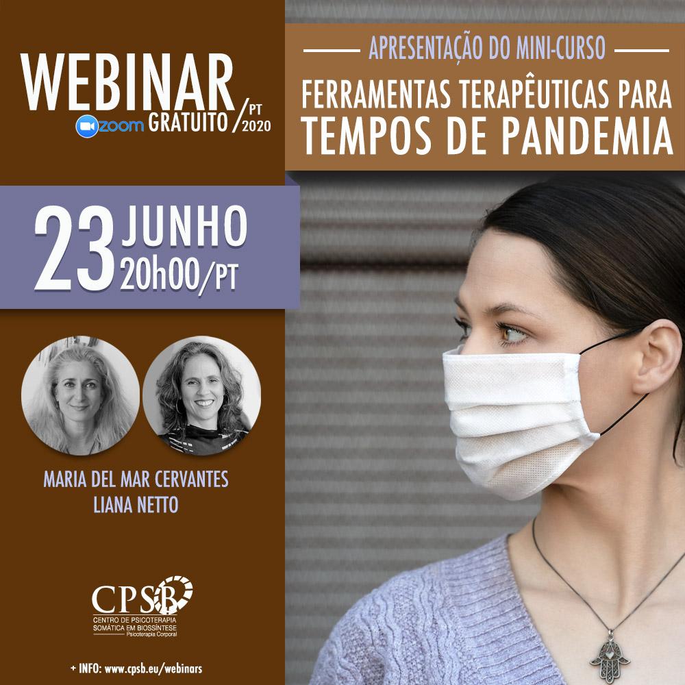 Webinar - Ferramentas Terapêuticas para Tempos de Pandemia