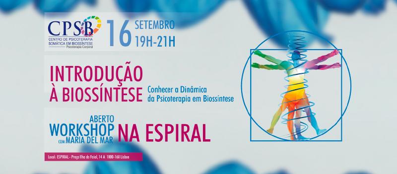 WS - Introdução à Biossintese por Maria del Mar
