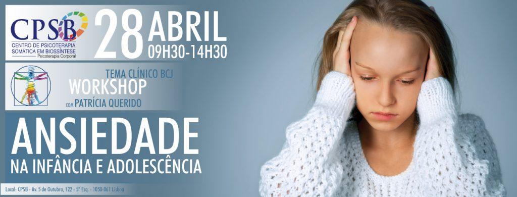 Workshop - Depressão na Infancia e na Adolescência