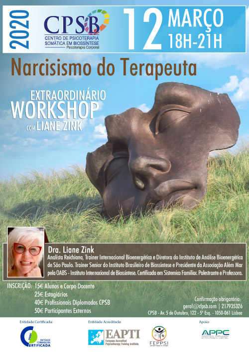 Workshop - Narcisismo do Terapeuta